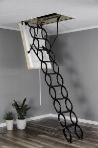 Чердачные лестницы ножничного типа